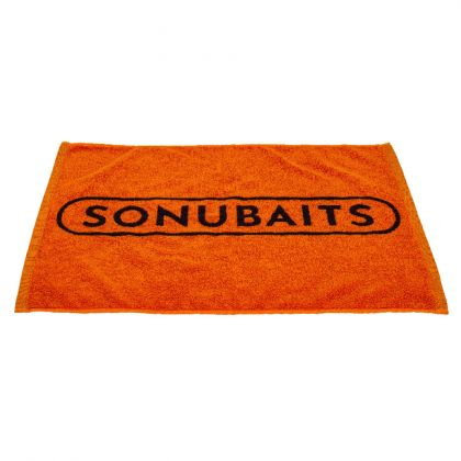 Towel Sonubaits zwart - oranje klein vismateriaal