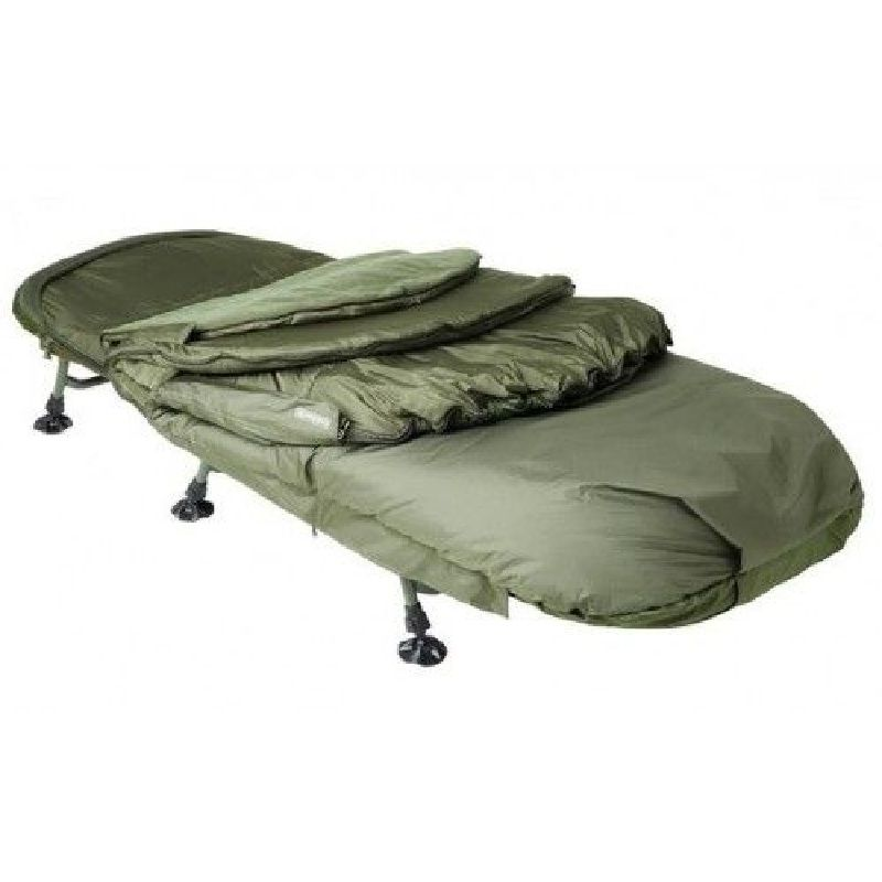 Trakker 365 Sleeping Bag groen slaapzak visbed