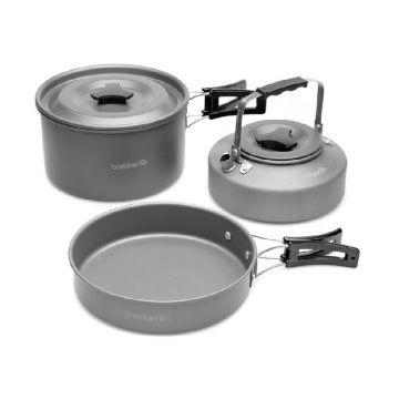 Trakker Armo Complete Cookware Set zilver 3-piece
