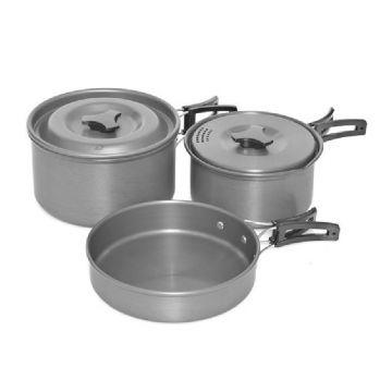 Trakker Armo Cookware Set argent  3-piece