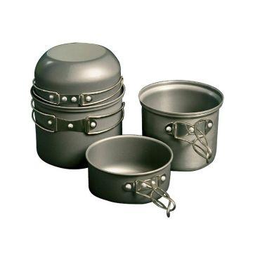 Trakker Armo Cookware Set zilver 4-piece