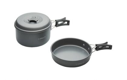 Trakker Armolife 2 Piece Cookware Set zilver
