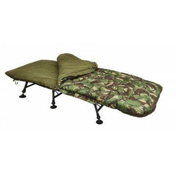 Trakker Camo 4S Sleeping Bag camo slaapzak visbed 225x100x12cm