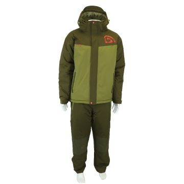 Trakker Core 2 Piece Winter Suit groen warmtepak Small