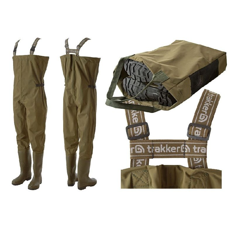 Trakker N2 Chest Waders groen waadpak M45