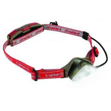 Trakker Nitelife Headtorch 120 groen - rood lamp