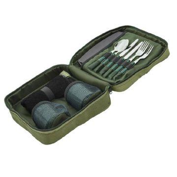 Trakker NXG Deluxe Food Set groen karper karpertas