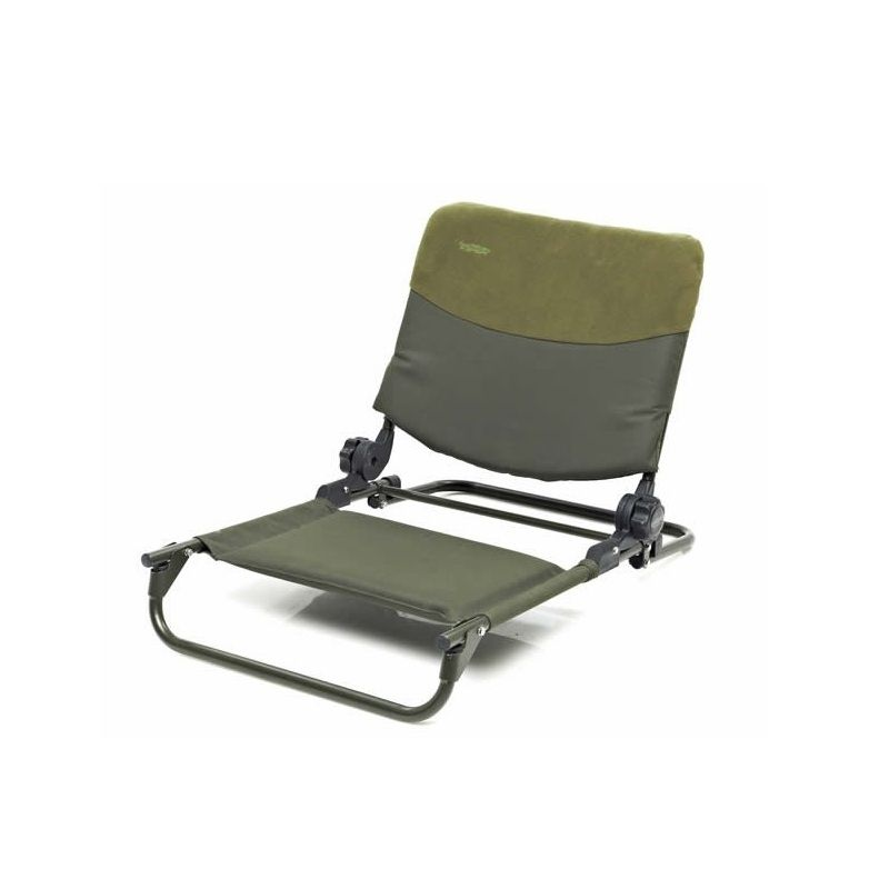 Trakker RLX Bedchair Seat groen visstoel karperstoel