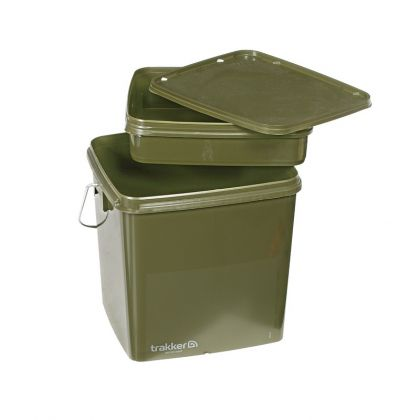 Trakker Square Bucket olive  13l