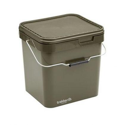 Trakker Square Container olive visemmer 17l