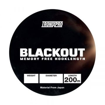 Tronixpro Blackout clear zeevis visdraad 0.22mm 200m 10lb