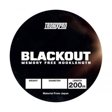 Tronixpro Blackout clear zeevis visdraad 0.33mm 200m 20lb