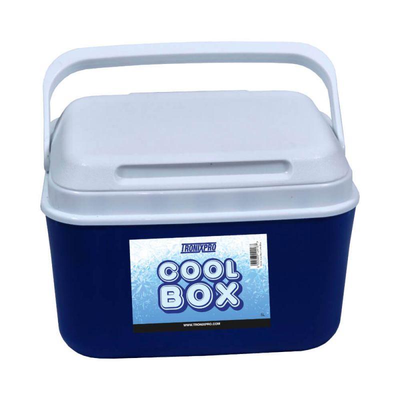 Tronixpro Cool Box blauw - wit viskoffer