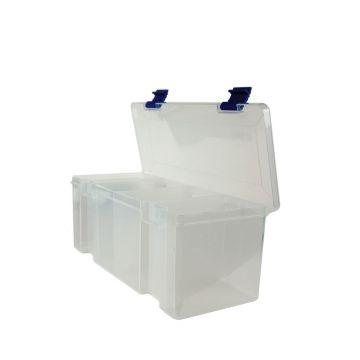 Tronixpro Jumbo Rig Winder Box clear zeevis opbergsysteem
