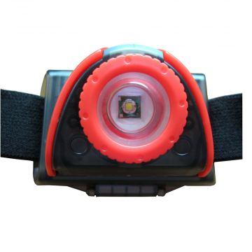 Tronixpro Multi Function Headlamp zwart - rood lamp