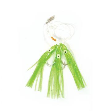 Tronixpro Muppet Rig groen zeevis zee onderlijn 7/0