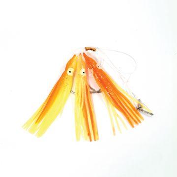 Tronixpro Muppet Rig oranje zeevis zee onderlijn 7/0