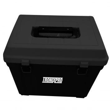 Tronixpro Seat Box zwart zeevis visbak Large