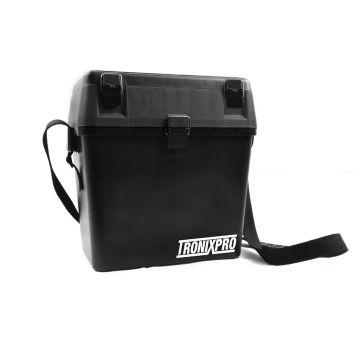Tronixpro Seat Box zwart viskoffer