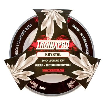 Tronixpro Shock Leader clear zeevis visdraad 0.55mm 50m