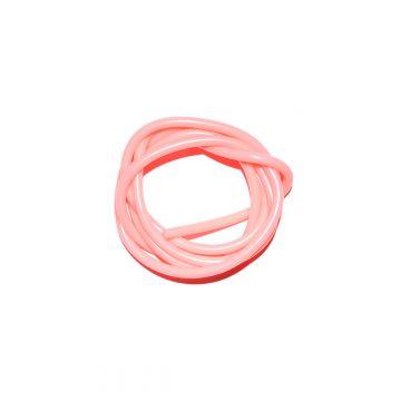 Tronixpro Tubing roze zeevis klein vismateriaal 2.0mm