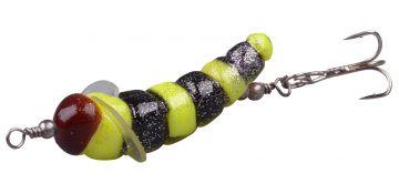 Troutmaster Camola jaune - noir  3.5cm