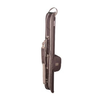 Troutmaster Compact Semi-Hard Case bruin visfoudraal 140x18x12.5cm