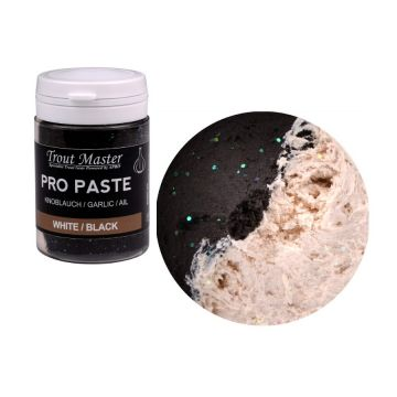 Troutmaster Pro Paste white black glitter forel forelaas 60g