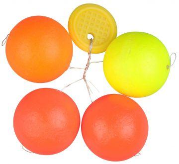 Troutmaster Round Pilots 4-kleuren forel klein vismateriaal 20mm