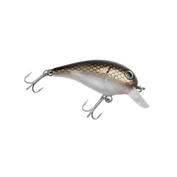Troutmaster Super Trout Shorty brown silver forel forelaas 4.5cm