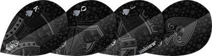 Unicorn Ultrafly Black Royal Flush Pear zwart 100 Micron