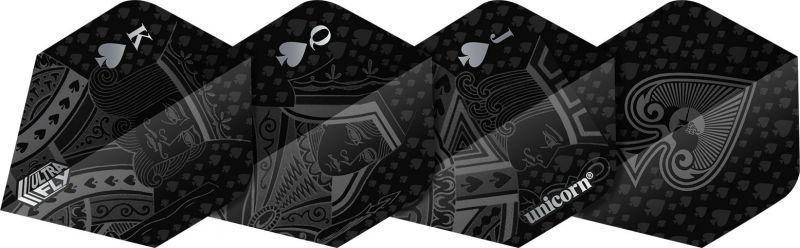 Unicorn Ultrafly Black Royal Flush Std. zwart 100 Micron