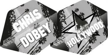 Unicorn Ultrafly Chris Dobey AR2 zwart - wit 75 Micron