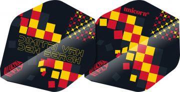 Unicorn Ultrafly Dimitri Van Den Bergh AR1 zwart - rood - geel 75 Micron
