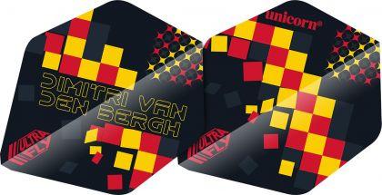 Unicorn Ultrafly Dimitri Van Den Bergh AR2 zwart - rood - geel 75 Micron
