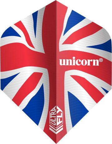 Unicorn Ultrafly Flag Union Jack Std. rood - wit - blauw 100 Micron