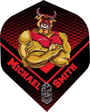 Unicorn Ultrafly Player Big Wing Michael Smith zwart - rood - geel 100 Micron