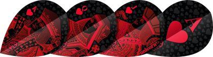 Unicorn Ultrafly Red Royal Flush Pear rood 100 Micron