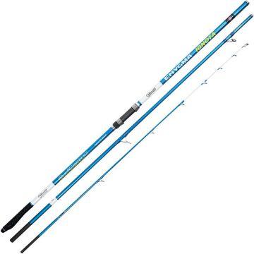 Vercelli Enygma Ignota blauw - wit zeevis zeebaarshengel 4m50 100-250g