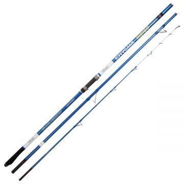Vercelli Enygma Indigo blauw - wit zeevis zeebaarshengel 4m50 100-200g