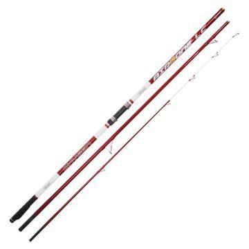 Vercelli Oxygen Airbone rood zeevis zeebaarshengel 4m20 100-200g
