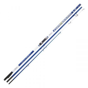 Vercelli Oxygen Commodoro blauw - wit zeevis zeebaarshengel 4m20 100-200g