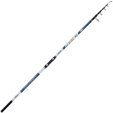 Vercelli Oxygen Marea Tele blauw - wit zeevis zeebaarshengel 4m20 100-200g