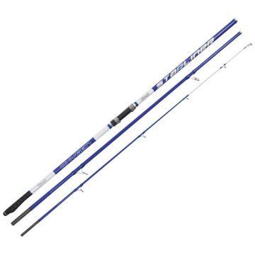 Vercelli Oxygen Starliner blauw - wit zeevis zeebaarshengel 4m20 100-200g
