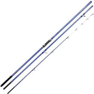 Vercelli Spyra Performante paars - blauw zeevis zeebaarshengel 4m20 100-200g