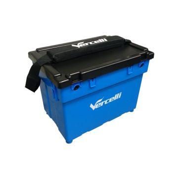 Vercelli Surf Container Box zwart - blauw zeevis visbak