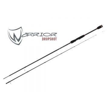 Foxrage Warrior Dropshot zwart roofvis spinhengel 2m40 4-17g