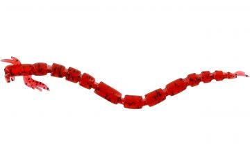 Westin Blood Teez bloodworm shad 7.5cm