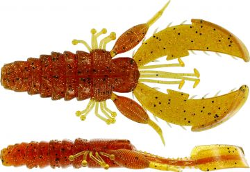 Westin CreCraw Creaturebait motoroil pepper roofvis creature bait 8.5cm 7g