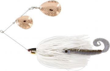 Westin Monster Vibe Colorado lively roach roofvis spinnerbait 65g